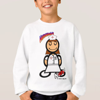 Nurse (with logos) sweatshirt