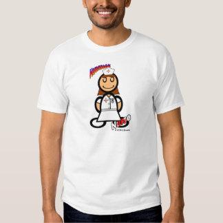 Nurse (with logos) tees