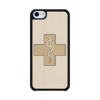 Nurse Carved® Maple iPhone 5C Case