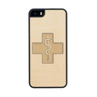 Nurse Carved® Maple iPhone 5 Case