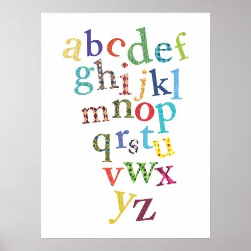 Nursery Art | Alphabet Print