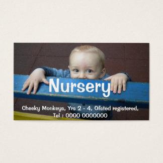 Nursery Flyer Business Card