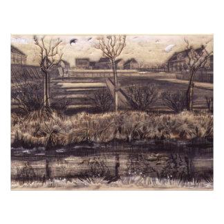 Nursery Gardens on Schenkweg - van Gogh 21.5 Cm X 28 Cm Flyer