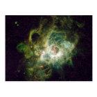 Nursery of stars in a spiral galaxy postcard