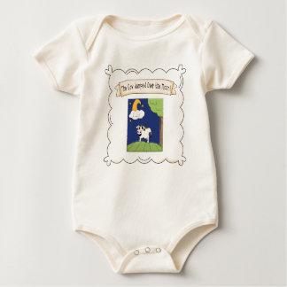 Nursery Rhyme Cow & Moon Infant Organic Creeper