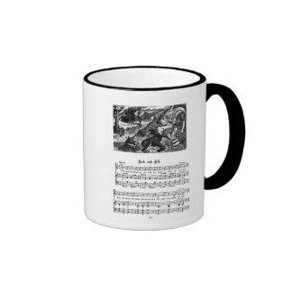Nursery Rhyme Jack and Jill Coffee Mugs