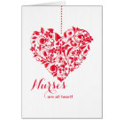 Nurses Are All Heart Nurses Day Card