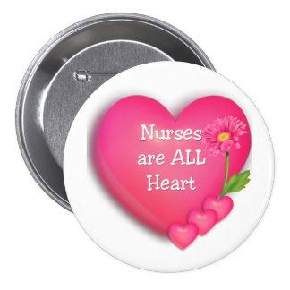 Nurses are ALL Heart Pin