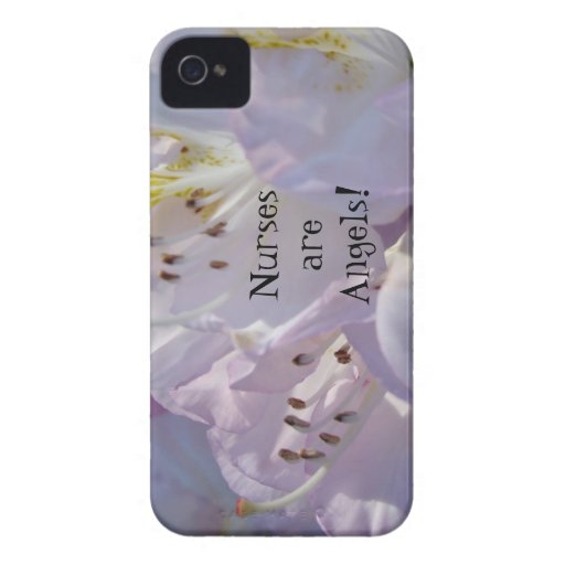 Nurses are Angels! Blackberry Bold cases Rhodies