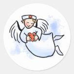 Nurses Are Angels Sticker