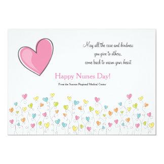 Nurses Are Full Of Heart 13 Cm X 18 Cm Invitation Card