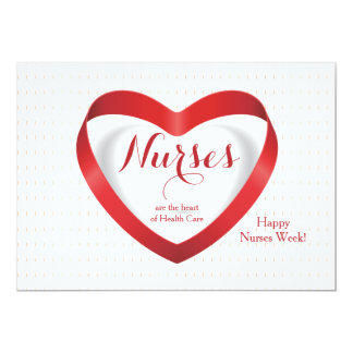 Nurses Are...Happy Nurses Day Card Personalized Announcement
