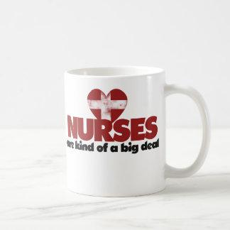 Nurses are kind of a big deal coffee mug