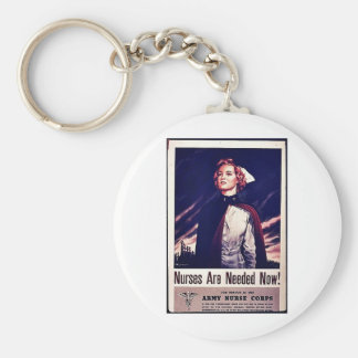 Nurses Are Needed Now! Keychains