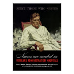 Nurses Are Needed -- WWII VA Poster