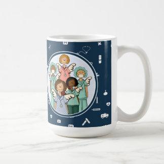 Nurses are real Angels on Earth. Gift  Mug