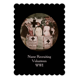 Nurses at Recruiting Station 5x7 Paper Invitation Card