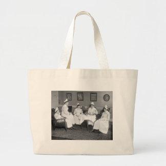 Nurses at Tea, early 1900s Jumbo Tote Bag