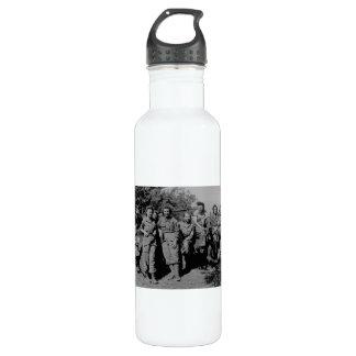 Nurses Beside Jeep WWII 710 Ml Water Bottle