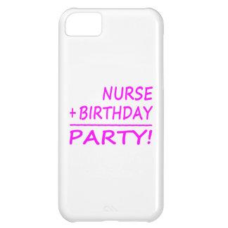 Nurses Birthdays Nurse + Birthday Party iPhone 5C Cases