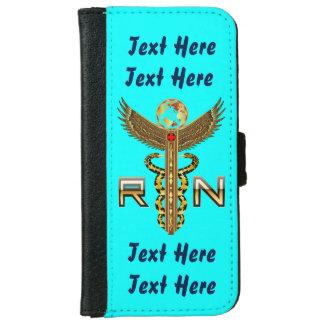 Nurses Caduceus RN  Read About Design iPhone 6 Wallet Case