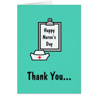Nurses Day Card -- Thank You