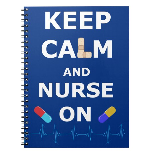 Nurses Day Keep Calm Photo Notebook (80 Pages