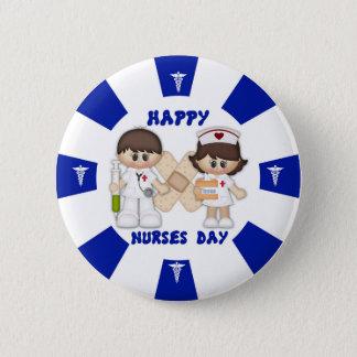 Nurses Day Standard, 2¼ Inch Round Button