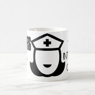 Nurses Do It With Intensive Care Basic White Mug