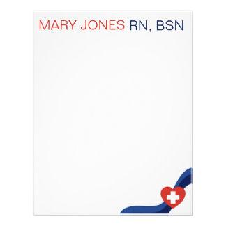 Nurses Flat Notecard Invitations