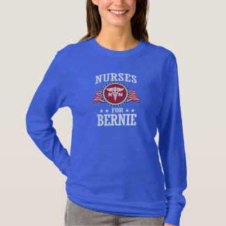 NURSES FOR BERNIE SANDERS T-Shirt