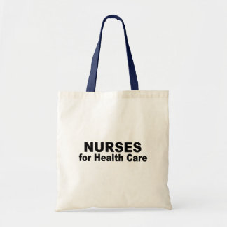Nurses for Health Care Tote Bags