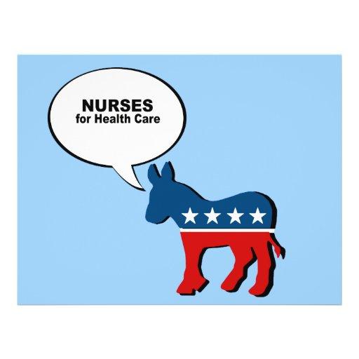 Nurses for Health Care Flyer Design