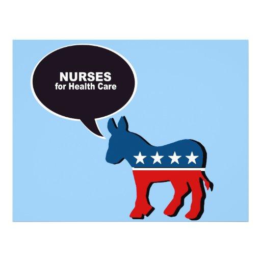 Nurses for Health Care Flyer