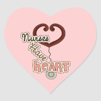 Nurses Have Heart Heart Sticker