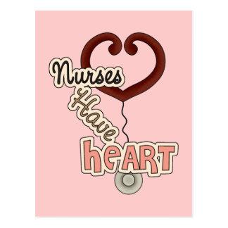 Nurses Have Heart Postcard