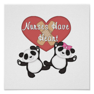 Nurses Have Heart Poster