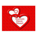 Nurses Have Heart Red Hearts