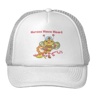 Nurses Have Heart T-shirts and Gifts Hats