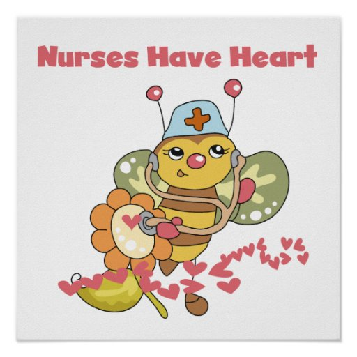Nurses Have Heart T-shirts and Gifts Posters