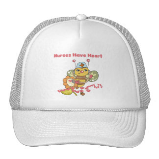 Nurses Have Heart T-shirts and Gifts Trucker Hat
