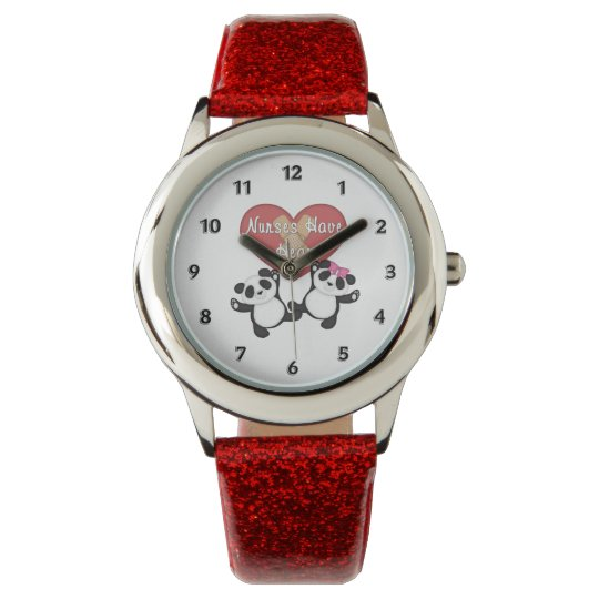 Nurses Have Heart Wristwatch