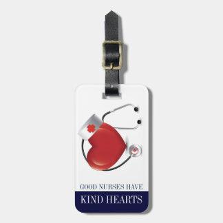 Nurses Have Kind Heart - Luggage Tote Bag Tags