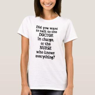 Nurses Know Everything Women's Basic T-Shirt