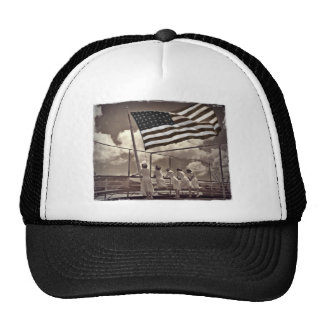 Nurses Looking at an Island 1945 Cap