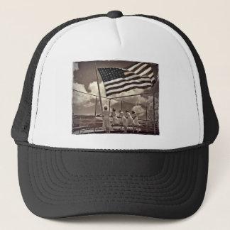 Nurses Looking at an Island 1945 Trucker Hat