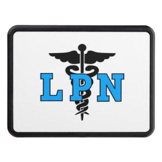 Nurses LPN Medical Symbol Tow Hitch Cover