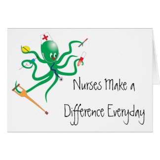 Nurses Make a Difference Card