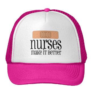 Nurses Make it Better, Bandage Cap