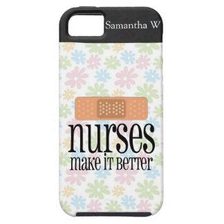 Nurses Make it Better, Bandage iPhone 5 Case